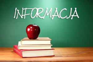 Informacja - Obwody Szkół Podstawowych